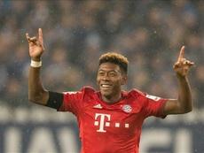 David Alaba se muestra centrado en el Bayern de Múnich. EFE