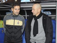 Claudio quiere un equipo con hambre. EFE/Archivo