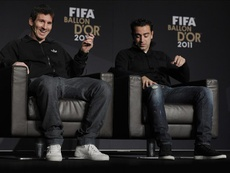 Xavi revient sur l'actualité du Barça. EFE
