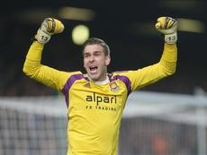 Adrián a perdu son statut de titulaire à West Ham. EFE