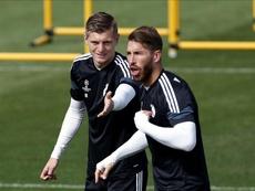 Zidane convoca Bale e deixa Ramos e Kroos de fora. EFE/Archivo