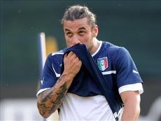 Osvaldo made 14 appearances for Italy, scoring four goals. EFE