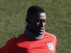 Jackson Martínez, en su breve etapa en el Atlético, continuará en Portimonense. EFE