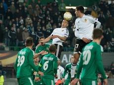 El Rapid se reencontró con la victoria tras dos empates y dos derrotas. AFP