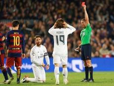 Le Real Madrid, pas satisfait du choix de l'arbitre du Clasico. EFE