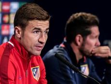 Gabi será la mano derecha de Simeone en el banquillo, según 'Radio Marca'. EFE
