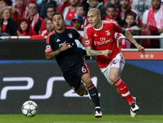 Victor Lindelöf, do Benfica, está muito perto de entrar no Manchester United. EFE