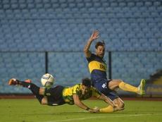 Daniel Osvaldo tiene que recuperarse. EFE
