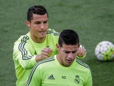 Cristiano Ronaldo pourrait retrouver James. EFE
