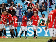 José Carlos anotó para el cuadro catalán en el minuto 56. EFE