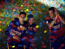 Bartra repasó sus inicios en el Barcelona. EFE