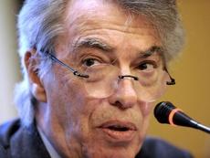 O ex-presidente da Inter de Milão, criticou a contratação de Romelu Lukaku. EFE/Archivo