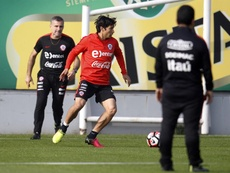 Matías Fernández, de regreso a Colo Colo. EFE