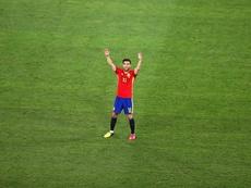 Fàbregas recordó la final del Mundial. EFE
