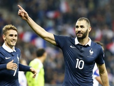 Karim Benzema could return to the France national team. EFE