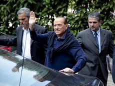 Silvio Berlusconi criticised the current Milan managers. EFE