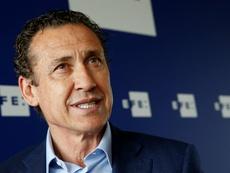 Valdano analizó la actualidad del Real Madrid. EFE/archivo
