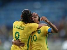 Brasil no pudo cerrar la fase de grupos con victoria. EFE