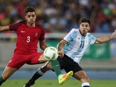 Giovanni Simeone quiere volver a jugar con la 'Albiceleste'. EFE