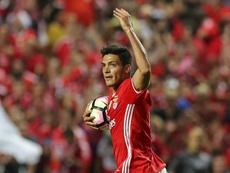 O Benfica bateu o Feirense por 0-2. EFE/EPA