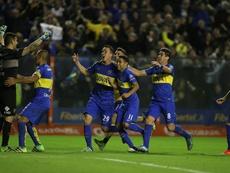 Boca no pdo pasar del empate en casa de Godoy Cruz. EFE/Archivo