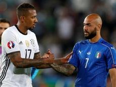 Boateng no podrá estar contra Italia. AFP