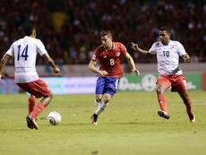 Bryan Oviedo assure que le Costa Rica croit en elle-même. EFE