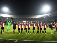 El Feyenoord lidera la tabla con paso firme. EFE