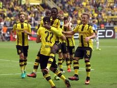 Felix Passlack também teve passagem pelo Borussia Dortmund. EFE/EPA