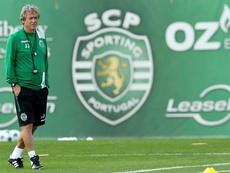 Treinador e presidente já preparam a próxima temporada. EFE