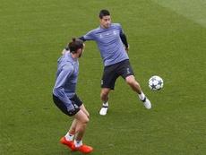 Zidane convoca James e Bale per il debutto contro il Celta. EFE