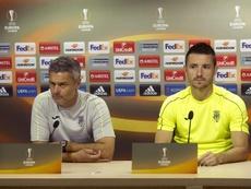 Fran Escribá lamentó las ocasiones desperdiciadas del Villarreal. EFE/Archivo