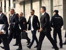 El padre de Neymar desmintió los rumores. EFE