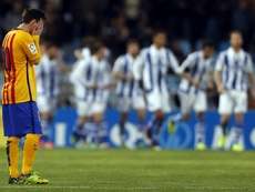 Louis Van Gaal criticó con vehemencia a Leo Messi. EFE
