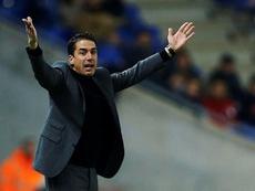 Julio Velázquez centra la prioridad en la Liga. EFE