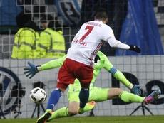 El Hamburgo ha vencido al Leipzig, el conjunto revelación de la Bundesliga. EFE/Archivo