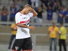Luis Fabiano podría regresar al fútbol en activo. EFE/Archivo