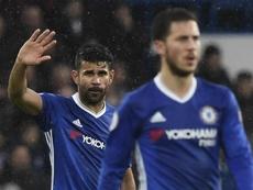 Diego Costa no estaría de vuelta en Londres, tal y como se afirmó ayer. EFE
