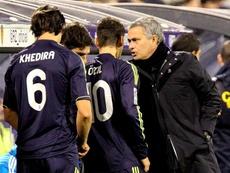 Al parecer, Özil y Mourinho no acabaron muy bien. EFE