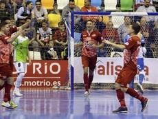 ElPozo forzó el empate ante el Barcelona. EFE