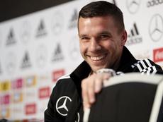 Podolski vuelve a Turquía. EFE