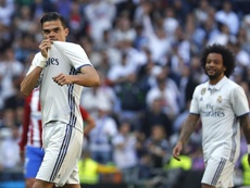 Pepe se encuentra sin equipo. EFE