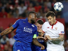 Morgan pictured in Champions League action. EFE