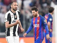Chiellini desveló que pudo jugar en el Madrid. EFE