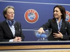 Los nuevos aliados comerciales de la UEFA en el fútbol femenino. EFE