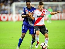 En la pasada jornada de Copa Libertadores, River Plate se enfrentó a Emelec. EFE