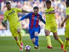 Emery looks to break the teams losing streak vs Barcelona. EFE