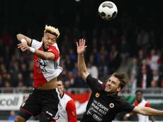 Feyenoord suffer shock loss. EFE/EPA