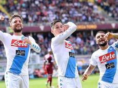 Callejón se va del Nápoles con 349 partidos y 82 goles a sus espaldas. EFE