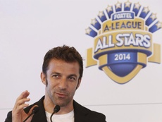 Del Piero gave his opinions on Madrid and Ronaldo. EFE